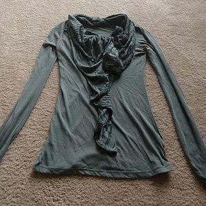 Anthropologie long sleeve shirt